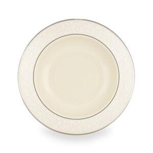 Lenox Pearl Innocence Rim Soup Bowl