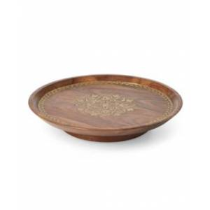 Lenox Global Tapestry Wood Lazy Susan  - No Color