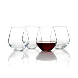 Lenox Stemware, Tuscany Classics Stemless Red, Set of 4