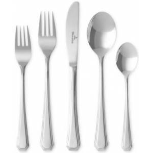 Villeroy & Boch Abbey 60-Piece Flatware Set, Service for 12  - Silver