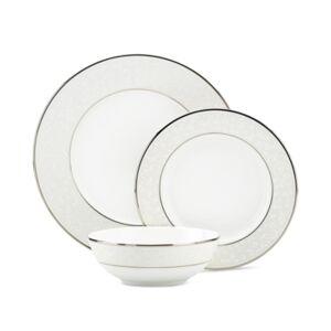 Lenox Dinnerware, Opal Innocence 3-Piece Place Setting