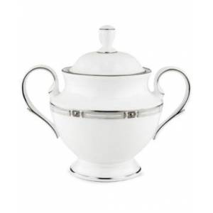 "Lenox Westerly Platinum 5.36"" Sugar Bowl"