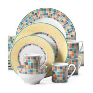 Villeroy & Boch Twist Alea 18-Pc. Dinnerware Set, Service for 4