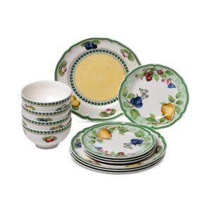 Villeroy & Boch French Garden Beaulieu 12-Pc. Dinnerware Set, Service for 4  - Beaulieu