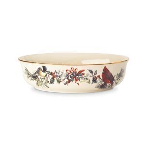 Lenox Winter Greetings Vegetable Bowl  - Ivory