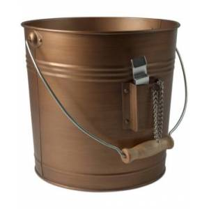 Artland Masonware Antique Copper Finish Beverage Pail with Bottle Opener  - COPPER