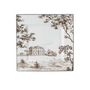 Wedgwood Parkland Accent Plate Square  - Multi