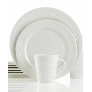 Lenox Dinnerware, Tin Can Alley Four Degree 12 Piece Set, Service for 4