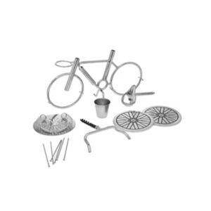 Godinger Bicycle Bar Tools Set  - Silver