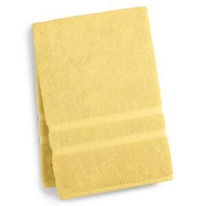 "Charter Club 33"" x 64"" Elite Hygro Cotton Bath Sheet, Created for Macy's Bedding  - Light Lemon"