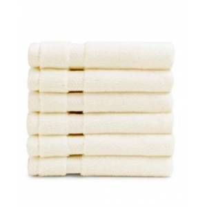 Charisma American Heritage Wash Towel, Pack of 6 Bedding  - Natural
