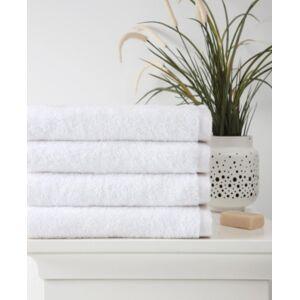 Ozan Premium Home Horizon Bath Towel 4-Pc. Set Bedding  - White