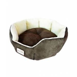 Armarkat Cozy Pet Bed For Cats and Extra Small Dogs  - Beige