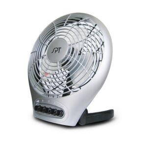 "Spt Appliance Inc. Spt 7"" Table Fan with Ionizer  - Slate"