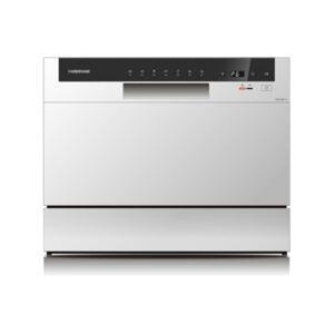 Farberware Professional 6-Piece Countertop Dishwasher  - White
