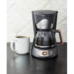 Crux 14634 5-Cup Coffee Maker, Created for Macy's  - Gray