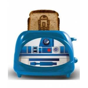 Uncanny Brands Star Wars R2D2 Empire Toaster  - Blue