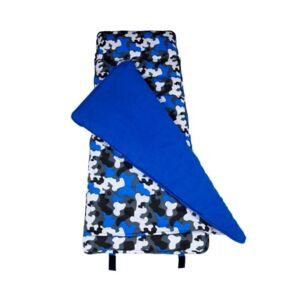 Wildkin's Blue Camo Original Nap Mat Bedding  - Green
