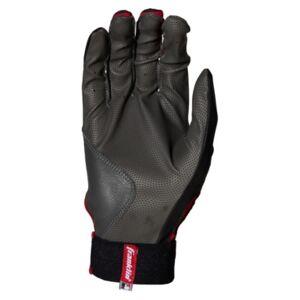 Franklin Sports Digitek Batting Glove  - Gray Black