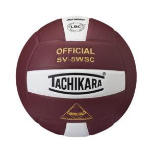 Tachikara SV5WSC Sensi-Tec Composite Volleyball  - Cardinal, White