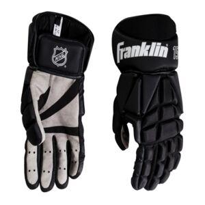 """Franklin Sports Hg 1500: Hockey Gloves-Senior Medium 13""""  - Black Whit"""