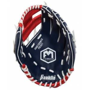 "Franklin Sports Field Master Usa Series 11.0"" Baseball Glove - Right Handed Thrower  - Red White"
