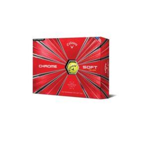 Sportsman's Supply Callaway Chrome Soft 18 Golf Ball - 12 Pack  - Yellow