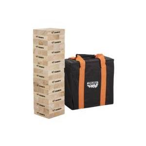 Viva Sol Triumph Fun Size 54 Tumble Strong Stacking Wooden Blocks for Game Nights with Family and Friends