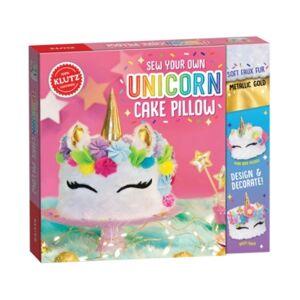 Klutz Sew Your Own Unicorn Cake Pillow