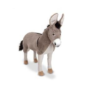 Melissa and Doug Lifelike Plush - Donkey