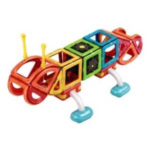 Magformers Crawl Friends 56 Piece Magnetic Construction Set