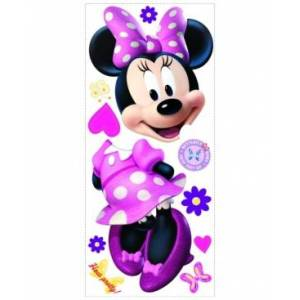 York Wallcoverings Minnie Bow-Tique Peel and Stick Giant Wall Decal