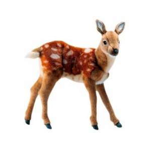 "Hansa 14"" Bambi Deer Plush Toy"