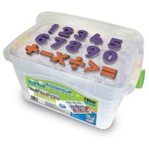 Junior Learning Touchtronic Number Kit 3 Learning Games and 160 Mathematic Pieces for iPad