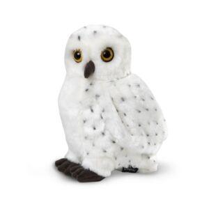 Fao Schwarz Toy Plush Realistic Owl