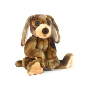 "Hansa Wow Wow 12"" Hound Dog Plush Toy"