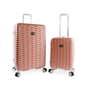 Bebe Lydia 2-Pc. Luggage Set  - Rose Gold