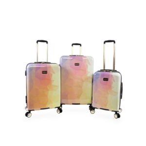 Bebe Emma 3-Pc. Hardside Luggage Set  - Yellow