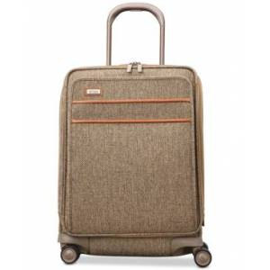 """Hartmann Tweed Legend 21"""" Domestic Carry-On Expandable Spinner Suitcase  - Natural Tweed"""