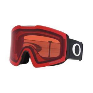 Oakley Men's Fall Line Goggles Sunglasses  - MATTE BLACK/Prizm Snow Rose