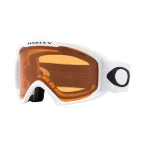 Oakley Unisex Frame 2.0 Goggles Sunglasses, OO7112  - MATTE WHITE/PERSIMMON & DARK GREY