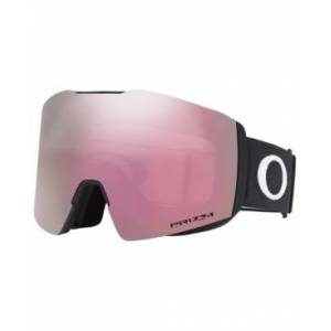 Oakley Men's Fall Line Goggles Sunglasses  - MATTE BLACK/Prizm Snow HI Pink Iridium