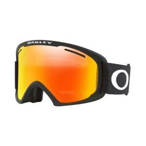 Oakley Unisex Frame 2.0 Goggles Sunglasses, OO7112  - MATTE BLACK/FIRE IRIDIUM & PERSIMMON