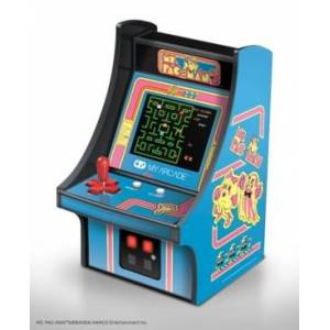 My Arcade Ms. Pac-Man Player  - Blue