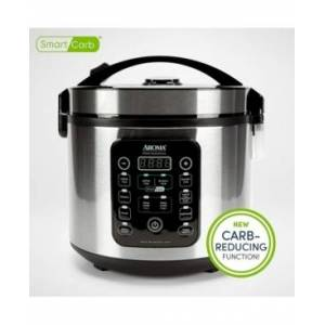 Aroma Arc-1120SBL 20 Cup Smart Carb Rice Cooker  - Stainless