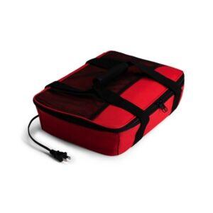 Hotlogic Food Warming Tote, Casserole Carrier 120V  - Red