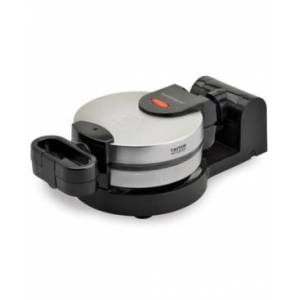 Toastmaster Low Profile Stainless Steel Flip Waffle Maker  - Silver