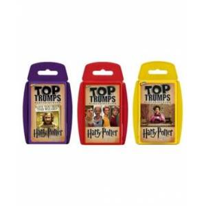 Top Trumps Card Game Bundle - Harry Potter I - Earlier Stories Prisoner of Azkaban, Goblet of Fire and Order of The Phoenix