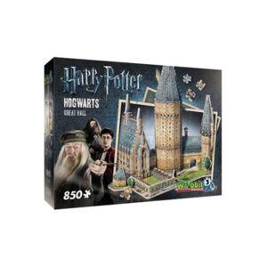 Wrebit Wrebbit - 3D Puzzle Harry Potter Hogwarts Great Hall, 850 Pieces