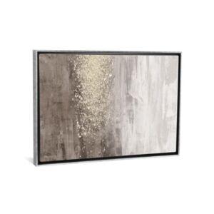 "iCanvas Glitter Rain Ii by Jennifer Goldberger Gallery-Wrapped Canvas Print - 26"" x 40"" x 0.75"""